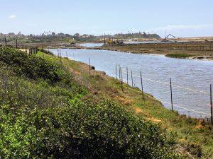 San Elijo Lagoon Dredging Machine