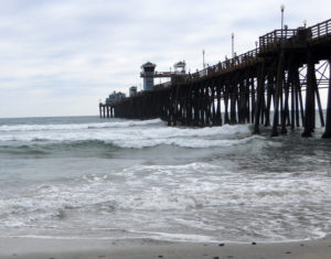 Oceanside Pier Beach View San Diego Wheelchair