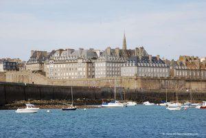 Saint Malo Beach France