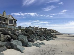 End of Saint Malo Beach