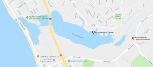 Agua Hedionda Lagoon Map