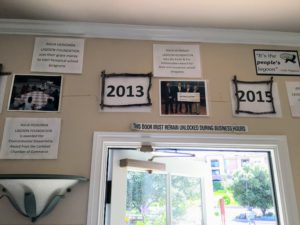 History Hall 2013-2015 Facts and photos