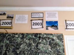 History Hall 2000-2003 facts Agua Hedionda Lagoon