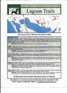 Agua Hedionda Lagoon Trail Map