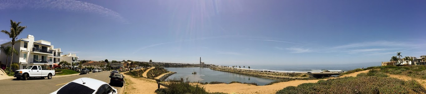 Agua Hedionda Lagoon Panoramic Picture