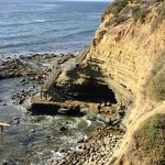 Garbage Beach Point Loma bluffs rocky shore