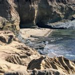 New Break Beach Point Loma rugged bluffs