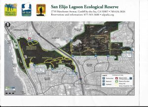 San Eljio Lagoon Ecological Reserve Trail Map