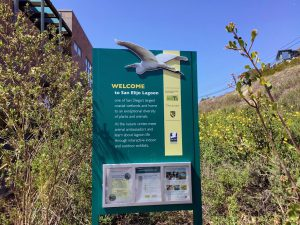 San Elijo Lagoon Nature Center Welcome Sign