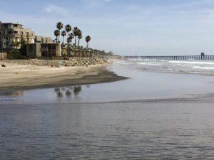 Oceanside Beach Inlet San Diego Beaches