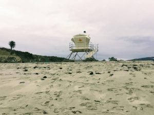 Trestles Beach Lifeguard Tower