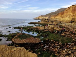 Cabrillo National Monument North View tide pools people