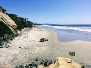 Del Mar Shores Beach Access Leashed Beach Dogs
