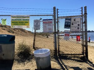 Fiesta Island Dog Park Rules entrance