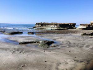 Flat Rock Torrey Pines State Beach