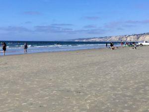 La Jolla Shores Beach sandy beach
