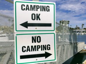 Oceanside Harbor Camping San Diego Beach Camping