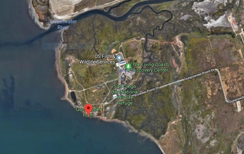Gunpowder point sweetwater marsh map