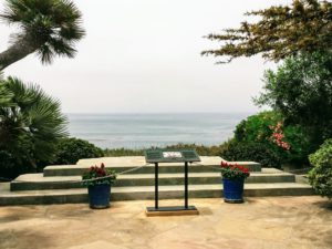 Meditation Garden overlook hidden gems in San Diego