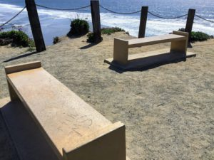 Overlook Benches Del Mar North Beach Bluff