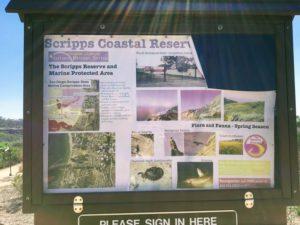 Scripps Coastal Reserve Information Kiosk Biodiversity Trail