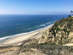 Scripps Coastal Reserve Ocean View bluffs ocean sky