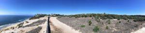 Scripps Coastal Reserve Panoramic biodiversity trail