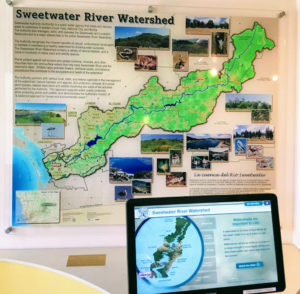 Sweetwater River watershed information poster
