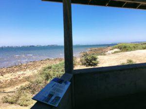 birding hut NW San Diego National Wildlife Re