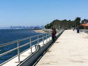 Bayside Park Pier San Diego Bay