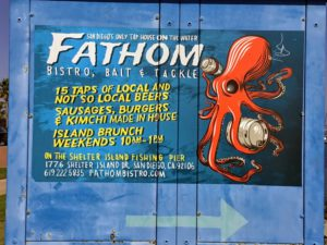 Fathom Bistro Shelter Island San Diego Bay