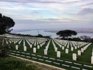 Fort Rosecrans National Cemetary Bay View San Diego Bay