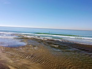 Los Penasquitos beach inlet torrey pines north beach