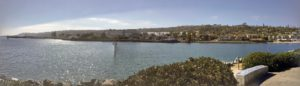 Naval Base Point Loma panoramic San Diego Bay