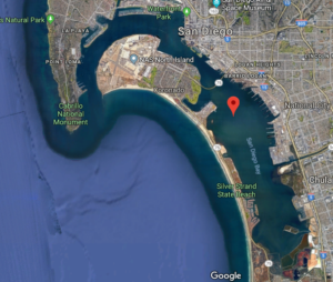 San Diego Bay Google Map Satellite