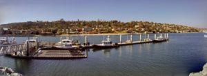 San Diego Harbor Police Dock San Diego Bay