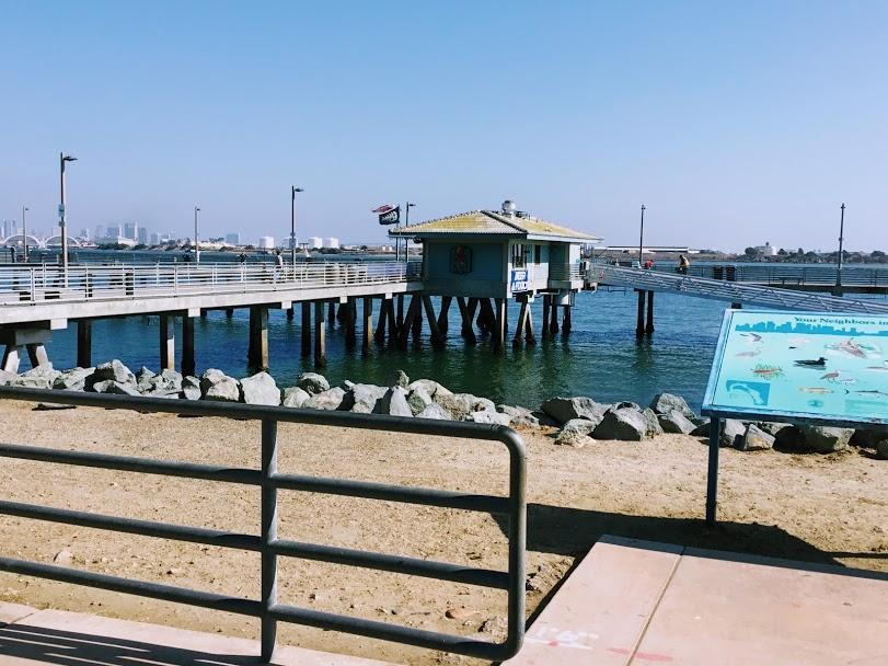 Shelter Island Pier San Diego Bay