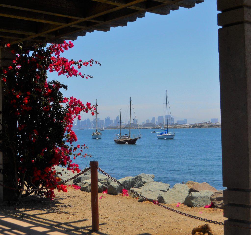 Shelter Island Pier Harbor View San Diego Bay