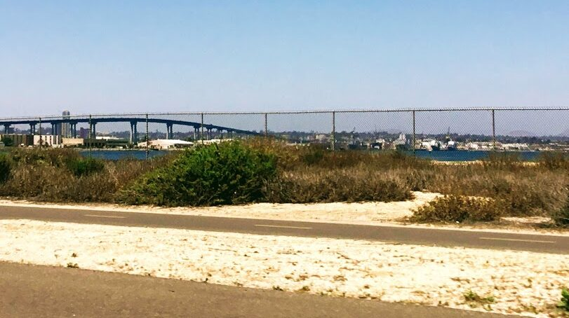 Silver Strand Bike Path San Diego Bay