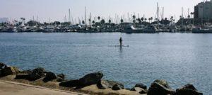 Spanish Landing Paddleboarder San Diego Bay