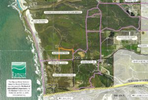 Tijuana River Valley Trail Map San Diego Birding