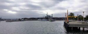 Tuna Wharf USS Midway View San Diego Bay