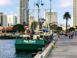 Tuna Wharf Way San Diego Bay
