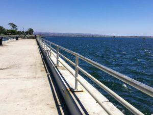 Bayside Pier Chula Vista San Diego Bay
