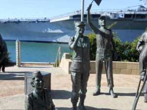 Bob Hope Memorial Navy Pier San Diego Bay