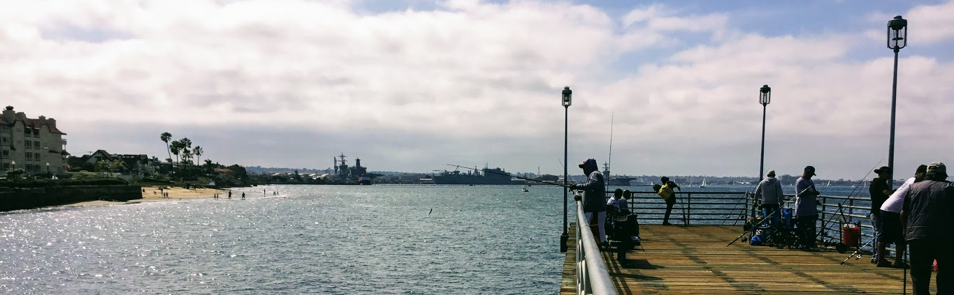 Naval Air Station North Island San Diego Bay