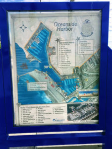 Oceanside Harbor Map Oceanside California