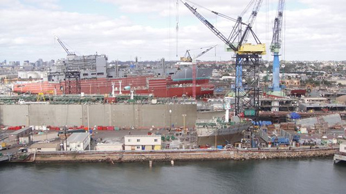 San Diego Shipyards San Diego Bay