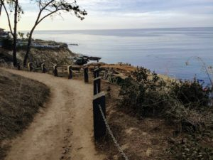 Beginning Trail La Jolla Coast Walk Trail