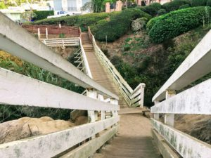 Bridge :a Jolla Coast Walk Trail